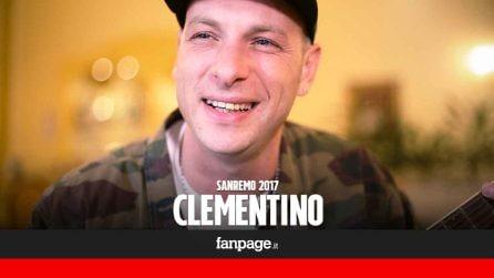 """Clementino a Sanremo: """"Difendo Napoli, nelle mie canzoni sempre una parola in dialetto"""""""