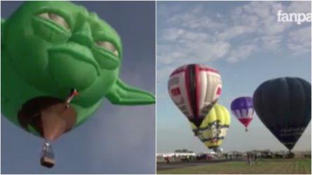 Le mongolfiere più strane in volo su Manila: al via Festival internazionale