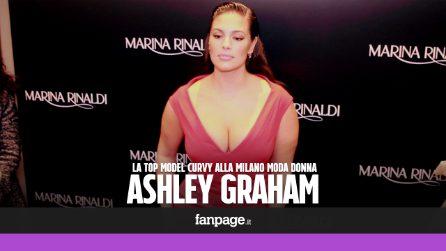 """Ashley Graham: """"Fiera del mio corpo, voglio essere un modello per i giovani"""""""