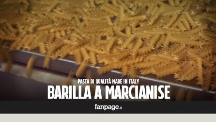 """Nello stabilimento Barilla di Marcianise: """"Così produciamo pasta di qualità Made in Italy"""""""