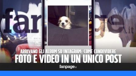 Come pubblicare un album in Instagram e condividere foto e video in un unico post