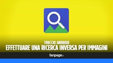 Effettuare una ricerca inversa per immagini con Android