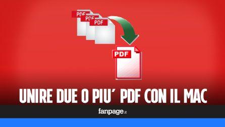 Unire due o più PDF con il Mac gratis