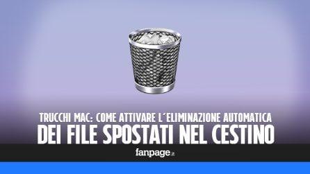 Trucchi Mac: attivare l'eliminazione automatica dei file nel cestino