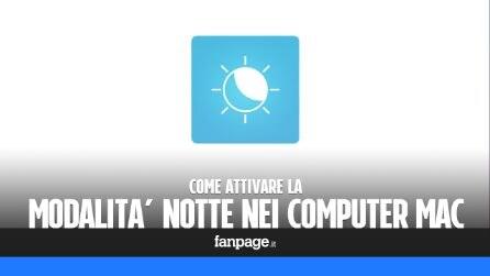 Night Shift su Mac: come attivare la modalità notte anche nei computer di Apple