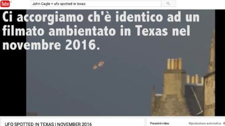 Il video-fake dell'Ufo in Normandia