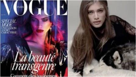 Valentina Sampaio, prima modella transgender sulla copertina di Vogue
