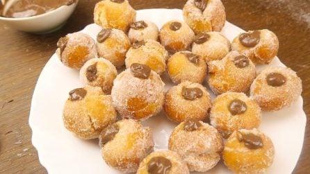 Castagnole ripiene: il dolce goloso per Carnevale!