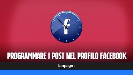 Programmare post nel profilo di Facebook