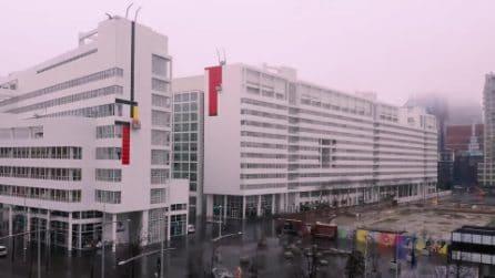 L'Aia: il Mondrian più grande del mondo