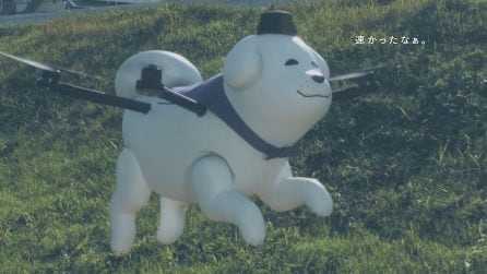 Il cane drone Yukimaru, la nuova mascotte giapponese