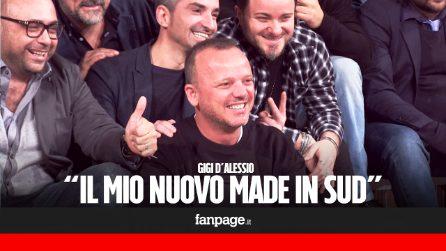 """Gigi D'Alessio nuovo conduttore di Made in Sud: """"Vi sentirete a casa, perché il Sud è la casa di tutti"""""""