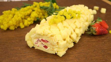 Rotolo mimosa: il dolce goloso per la festa delle donne!