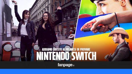 Abbiamo fatto provare Nintendo Switch ai milanesi