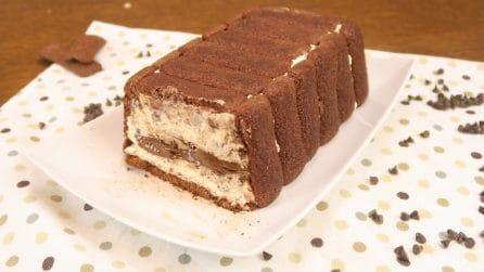 Tronchetto gelato facile e veloce: avrete bisogno solo di 4 ingredienti!