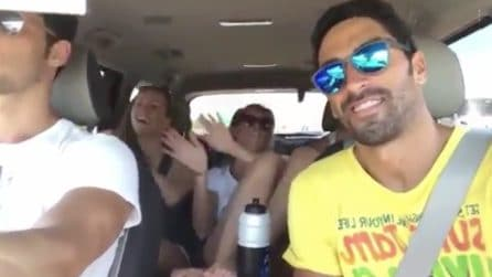 Pellegrini e Magnini insieme in Florida: gita in auto, risate e balletto