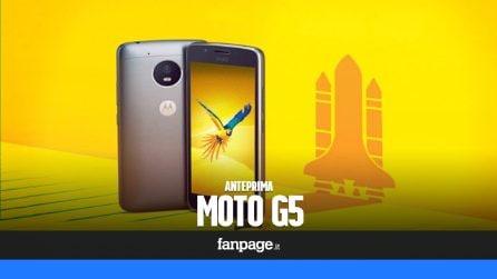 Motorola Moto G5: anteprima Mobile World Congress 2017