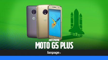 Motorola Moto G5 Plus: anteprima Mobile World Congress 2017
