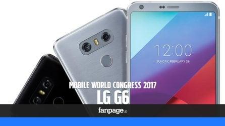 LG G6: prova e anteprima dal Mobile World Congress 2017
