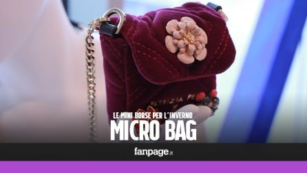 Micro bag: le borse per l'Autunno/Inverno 2017-18 sono mini