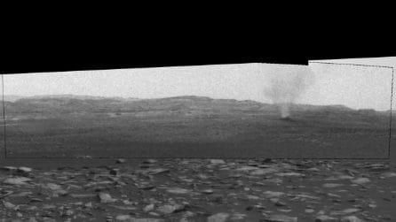 I 'diavoli di sabbia' solcano la superficie di Marte: ecco cosa sono