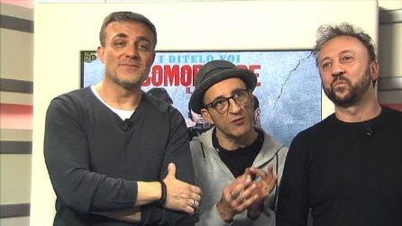 """I Ditelo Voi, da 'Made in Sud' a 'Gomorroide': """"Speriamo che Roberto Saviano veda il film per alleggerirsi"""""""
