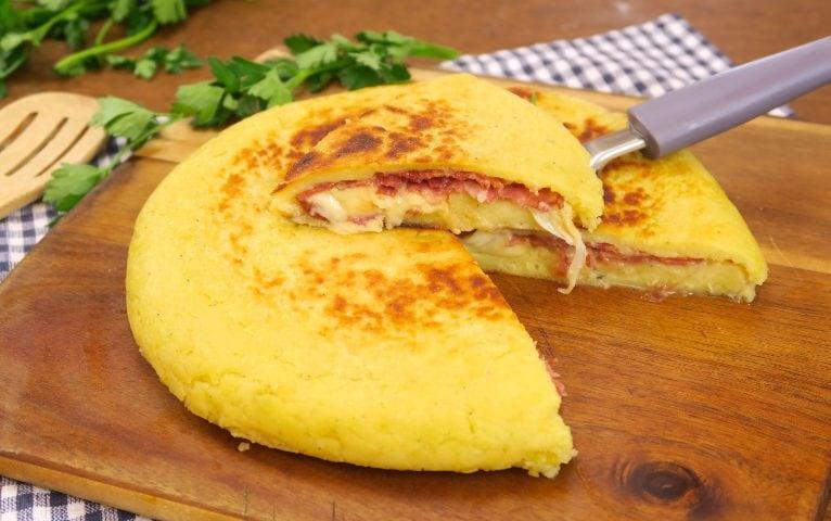 Schiacciata Di Patate In Padella La Ricetta Facile Veloce E Senza