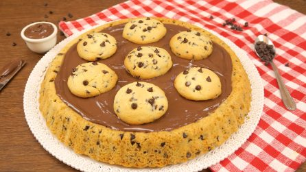 Crostata cookie: facile, veloce e super golosa!