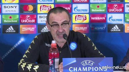 """Napoli fuori dalla Champions, Sarri: """"Rammarico per il pubblico"""""""