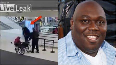 L'attore aggredisce un dipendente dell'aeroporto: Faizon Love arrestato, il video della lite