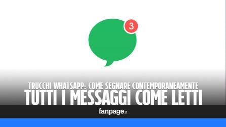 Trucchi WhatsApp: segnare (contemporaneamente) tutti i messaggi come letti