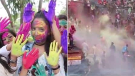 """Holi Festival, al via la spettacolare """"festa dei colori"""""""