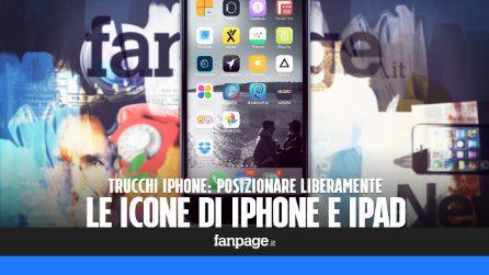 Posizionare liberamente le icone in iPhone e iPad senza jailbreak