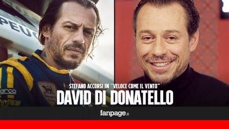 """Stefano Accorsi in corsa ai David di Donatello: """"I salti di gioia, ho amato molto Loris De Martino"""""""