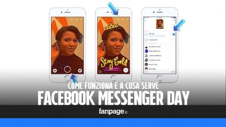 """Facebook Messenger Day: a che servono e come funzionano le """"storie"""" su Messenger"""