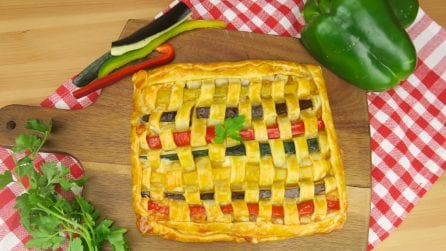 Vegetable pie: easy, quick and delicious!