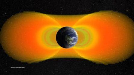 Fasce di Van Allen, quella interna ha meno elettroni relativistici: la scoperta della Nasa