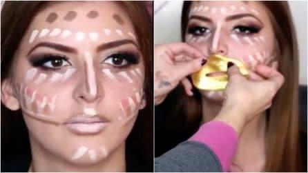 Linee e puntini sul volto: come realizzare un trucco base per il viso impeccabile
