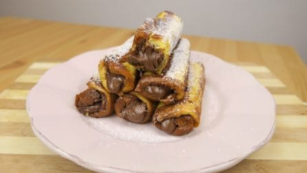 Chocolate French toast roll-ups: a delicious and easy to make treat!