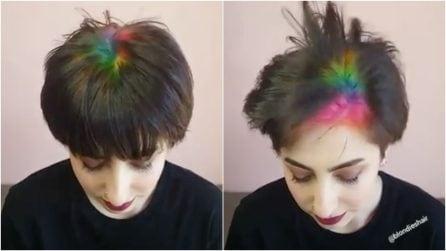 Radici arcobaleno: da Melbourne, la tendenza che fa impazzire tutti
