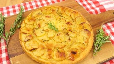 Focaccia veloce di patate: si prepara in 5 minuti!
