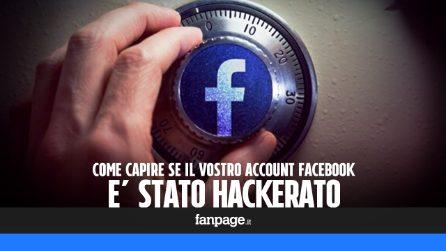 Come capire se il vostro account Facebook è stato hackerato