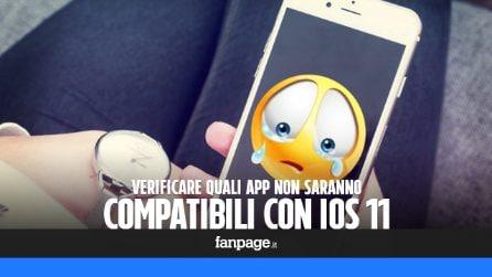 Quali app iPhone e iPad non funzioneranno con iOS 11?