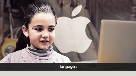 Bambini vedono la mela morsicata di Apple (e altri loghi) per la prima volta