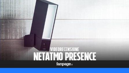Netatmo Presence: video recensione della telecamera di sorveglianza smart