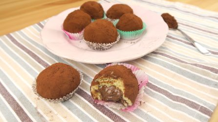 Tiramisù truffles: a real delicacy