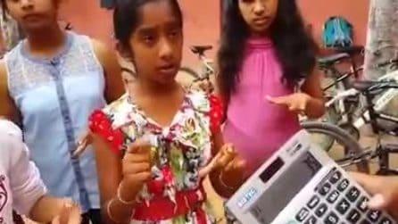 Le ragazzine sono velocissime a fare i calcoli: il loro metodo vi stupirà