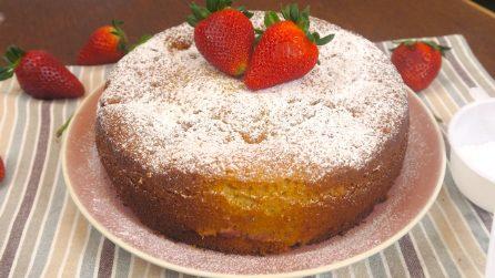 Torta di fragole soffice: la ricetta semplice per un dolce morbido e profumato!