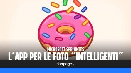 Sprinkles: l'app di Microsoft per scattare foto con l'intelligenza artificiale in stile Snapchat