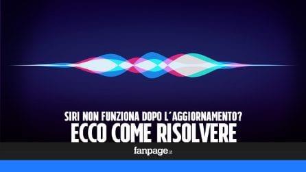 Siri non funziona o è scomparso dopo l'aggiornamento di iPhone e iPad? Ecco come risolvere il problema